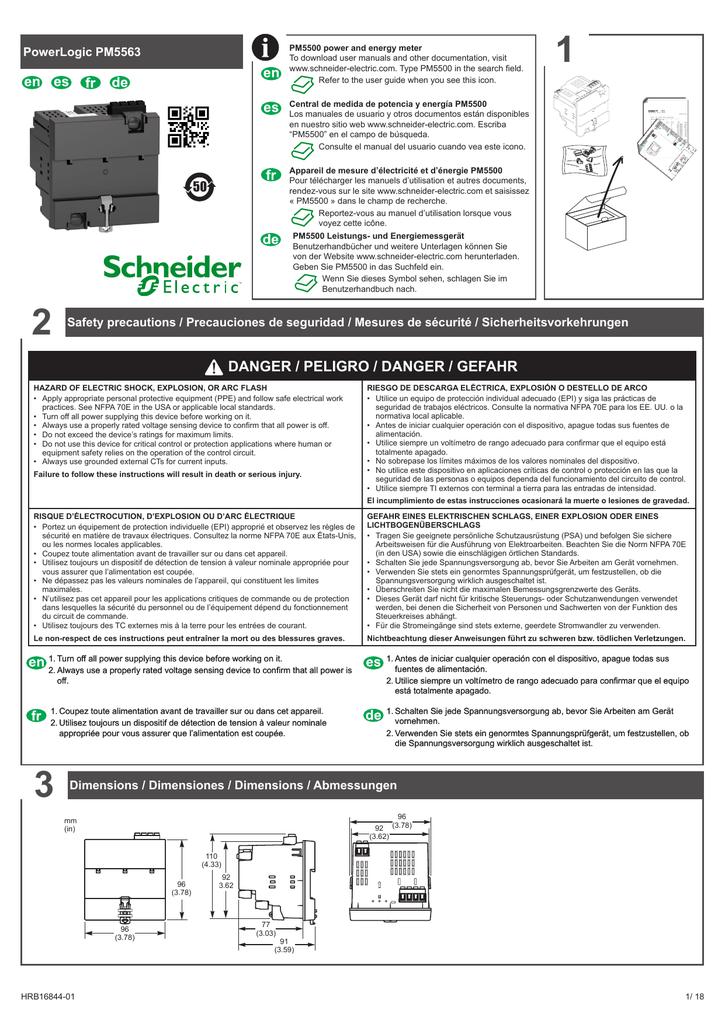 PM5563 Installation sheet.pdf | Manualzz