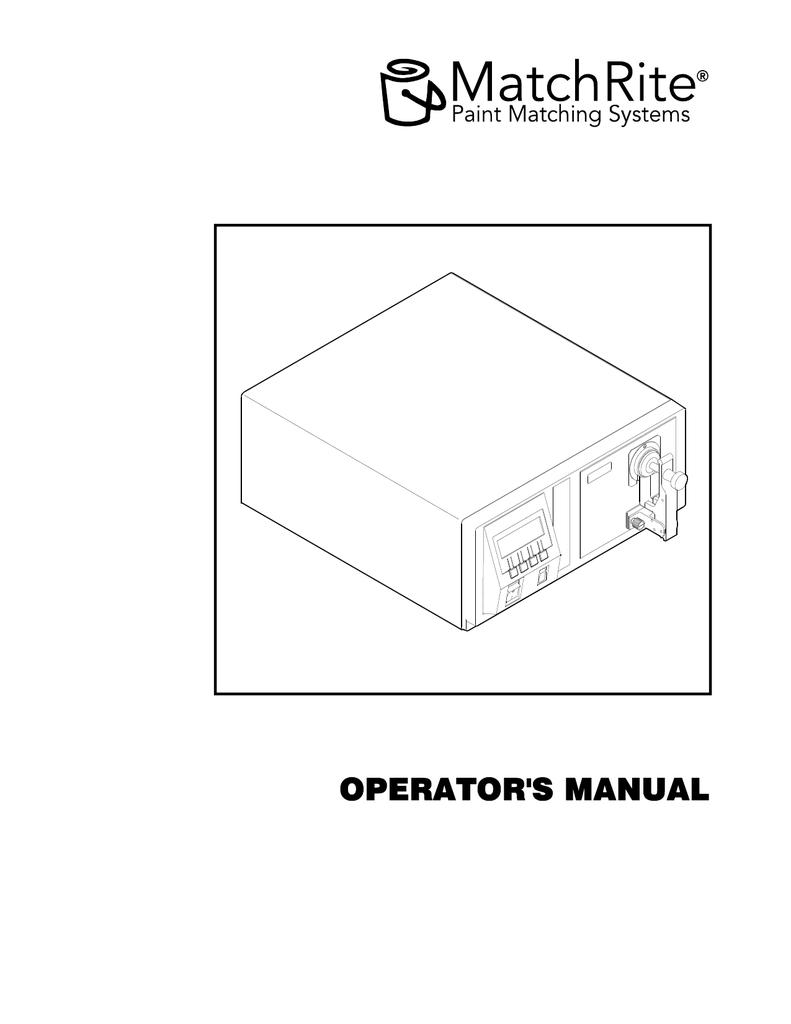 X-Rite CF57U Paint Spectrophotometer  Formulator Matchrite  Working Condition