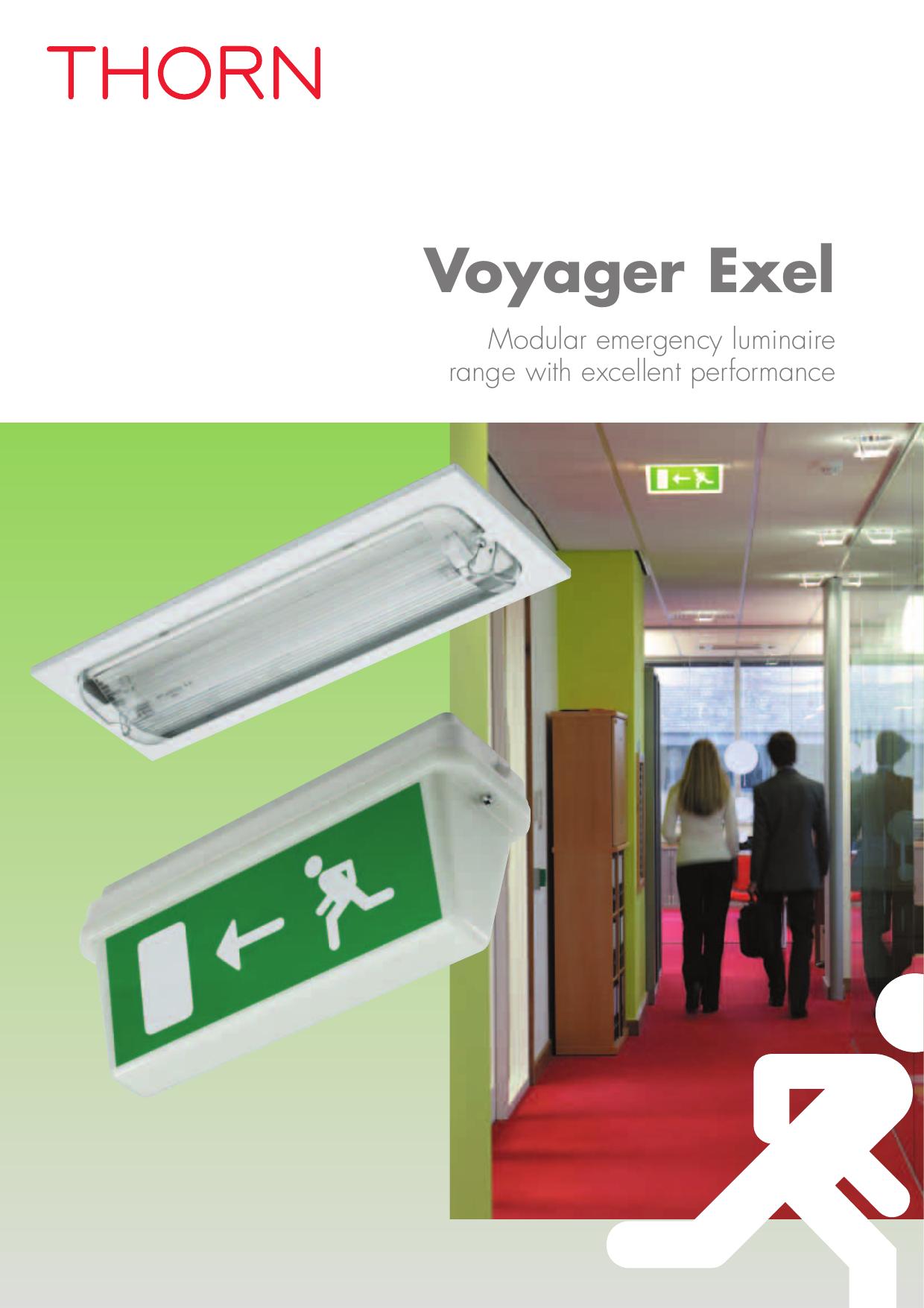 Voyager Exel Thorn Lighting Manualzz
