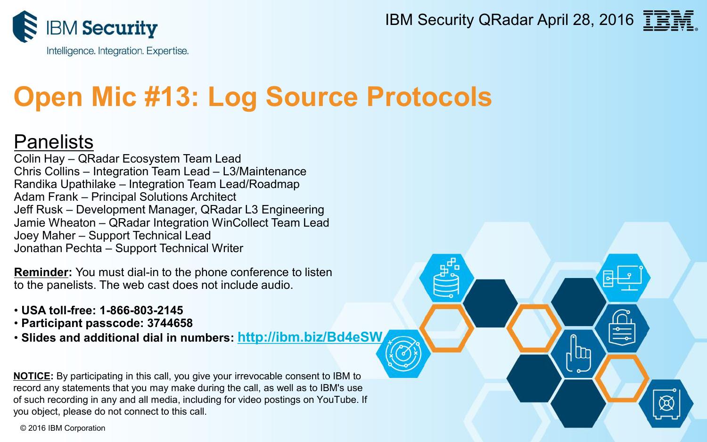Open Mic #13: Log Source Protocols | manualzz com