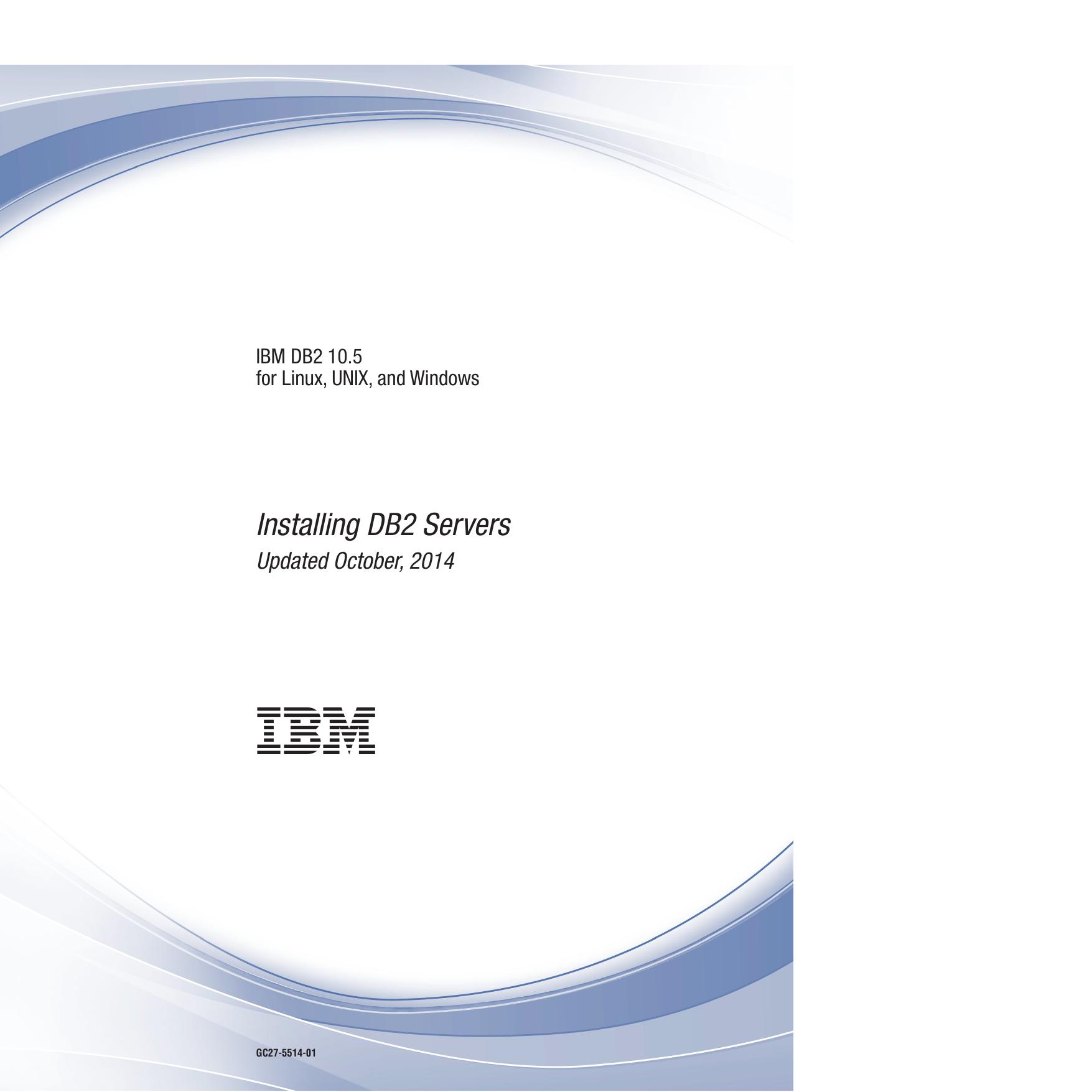 Installing DB2 Servers | manualzz com