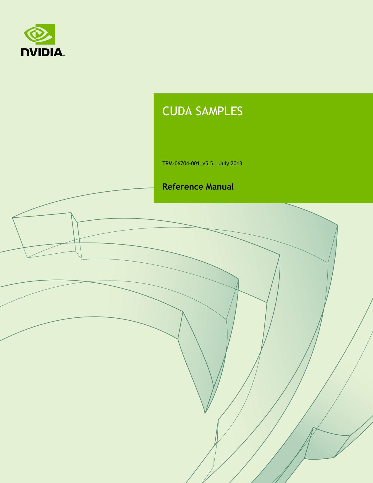CUDA Samples | manualzz com