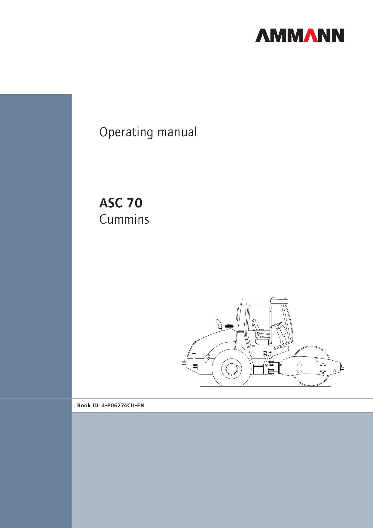 Operating manual - ASC 70 Murphy Cummins Tier 3 - en   manualzz com