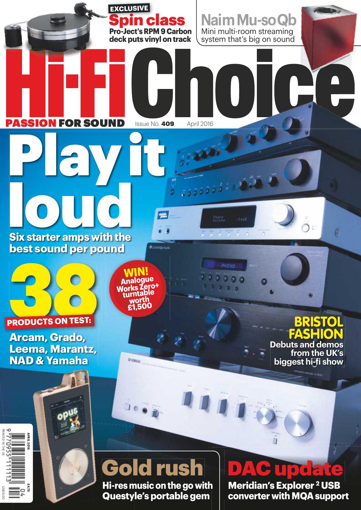 Hi-Fi Choice - April 2016 - Ebook-dl | manualzz.com