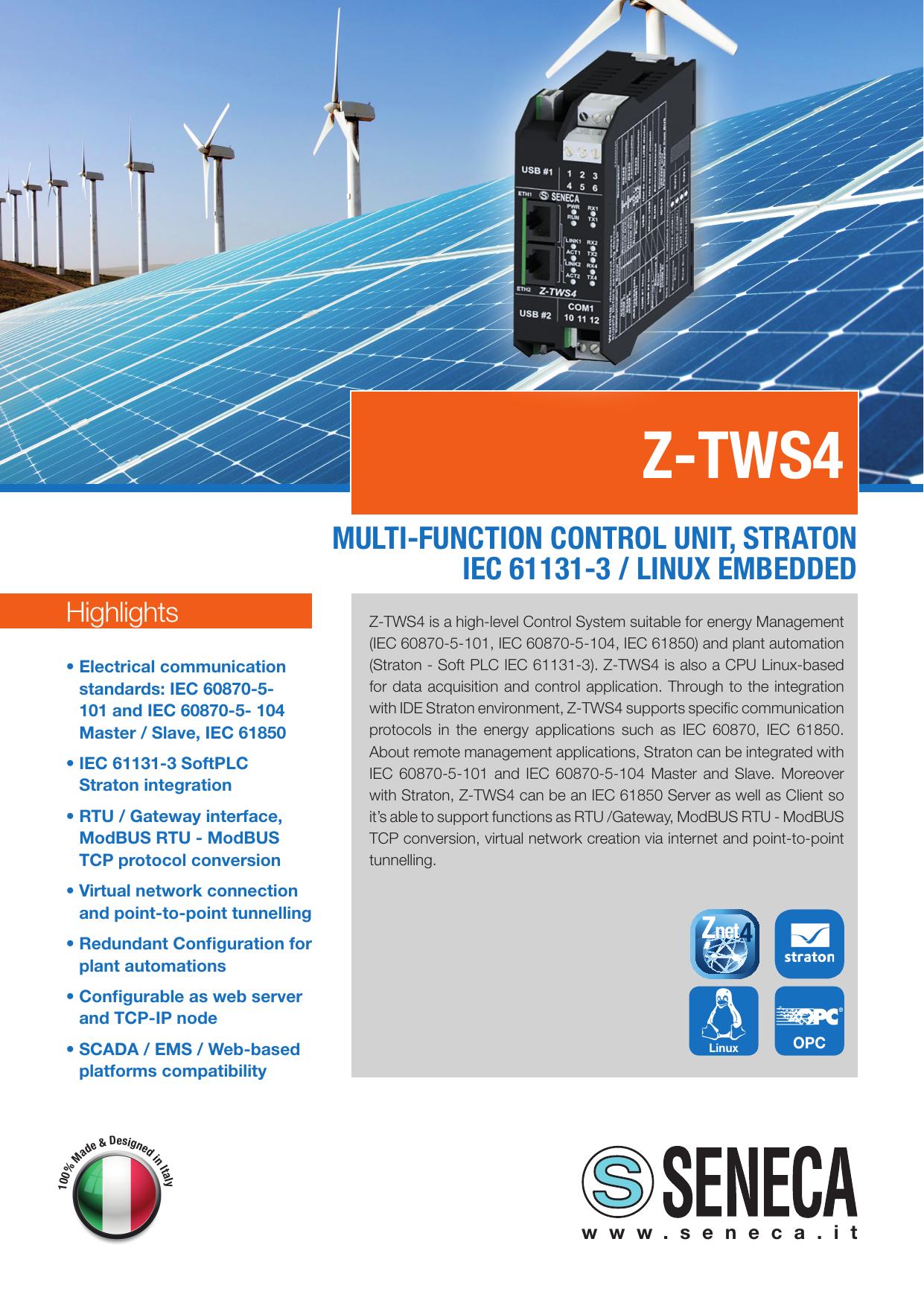 Z-TWS4 - Seneca   manualzz com