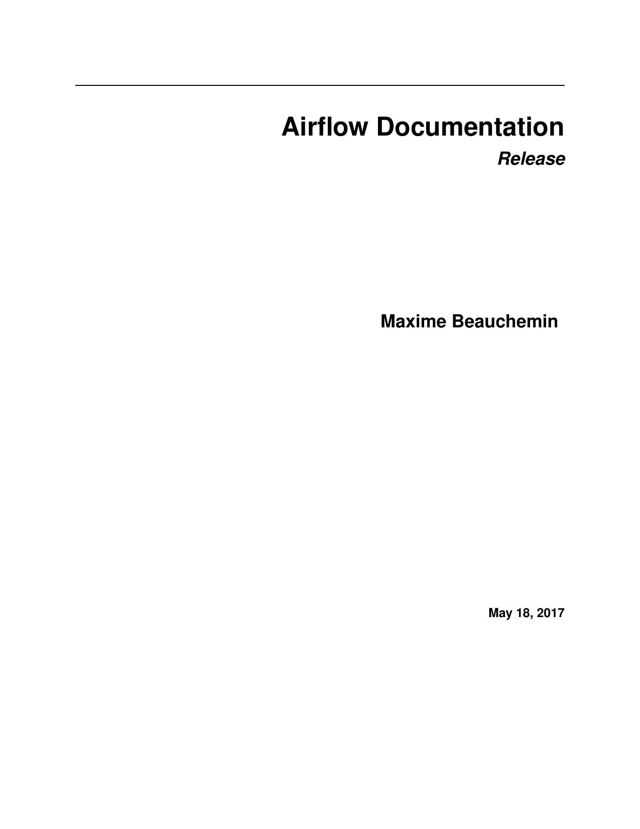 Airflow Documentation | manualzz com