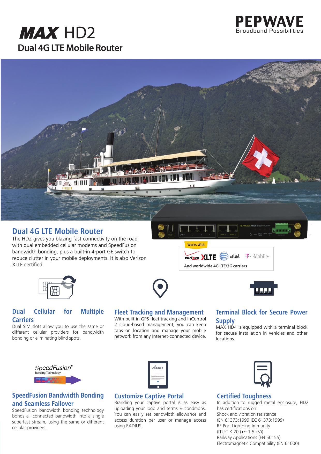 Dual 4G LTE Mobile Router | manualzz com
