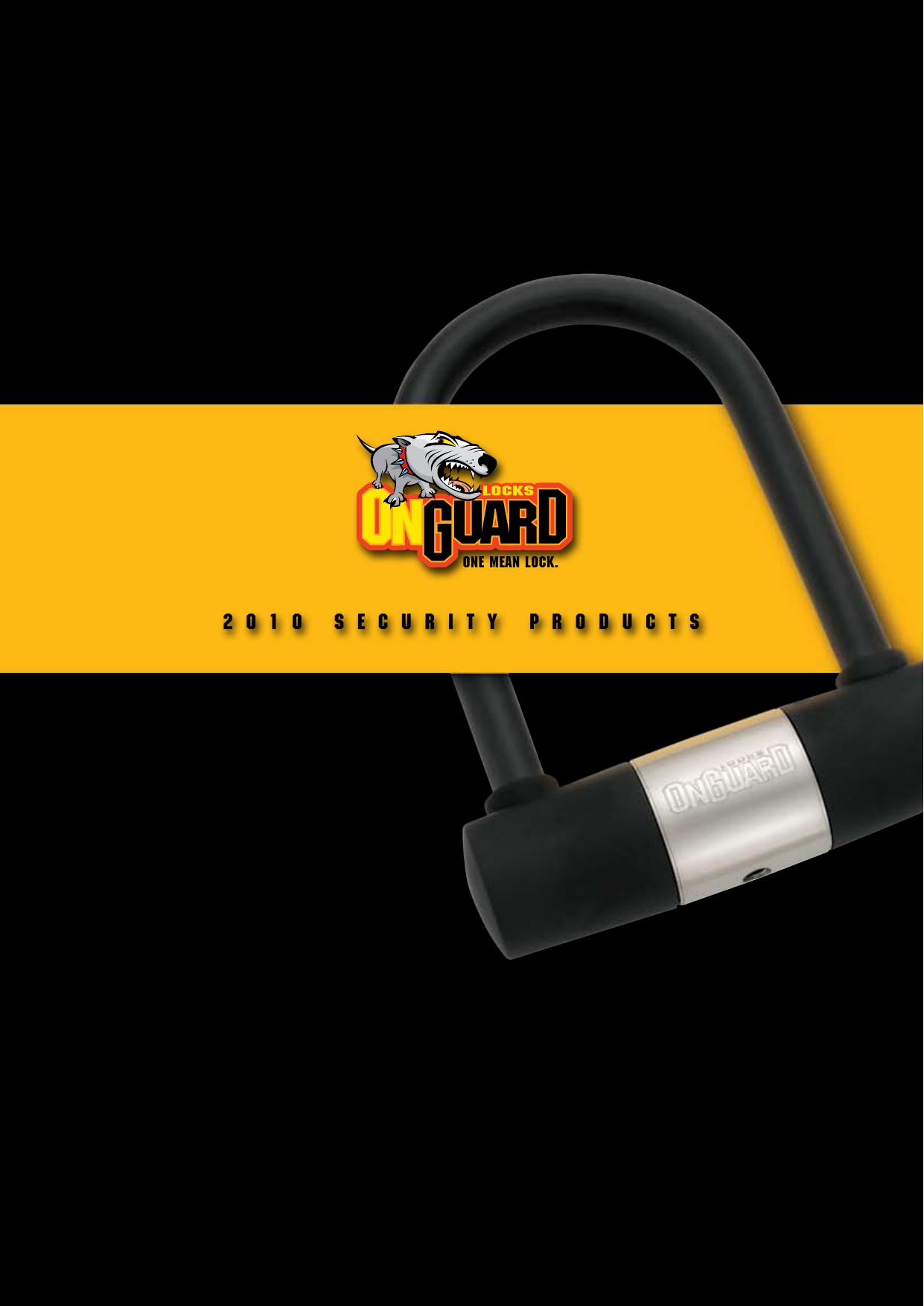 OnGuard Coil Cable 5033 Doberman Key Lock