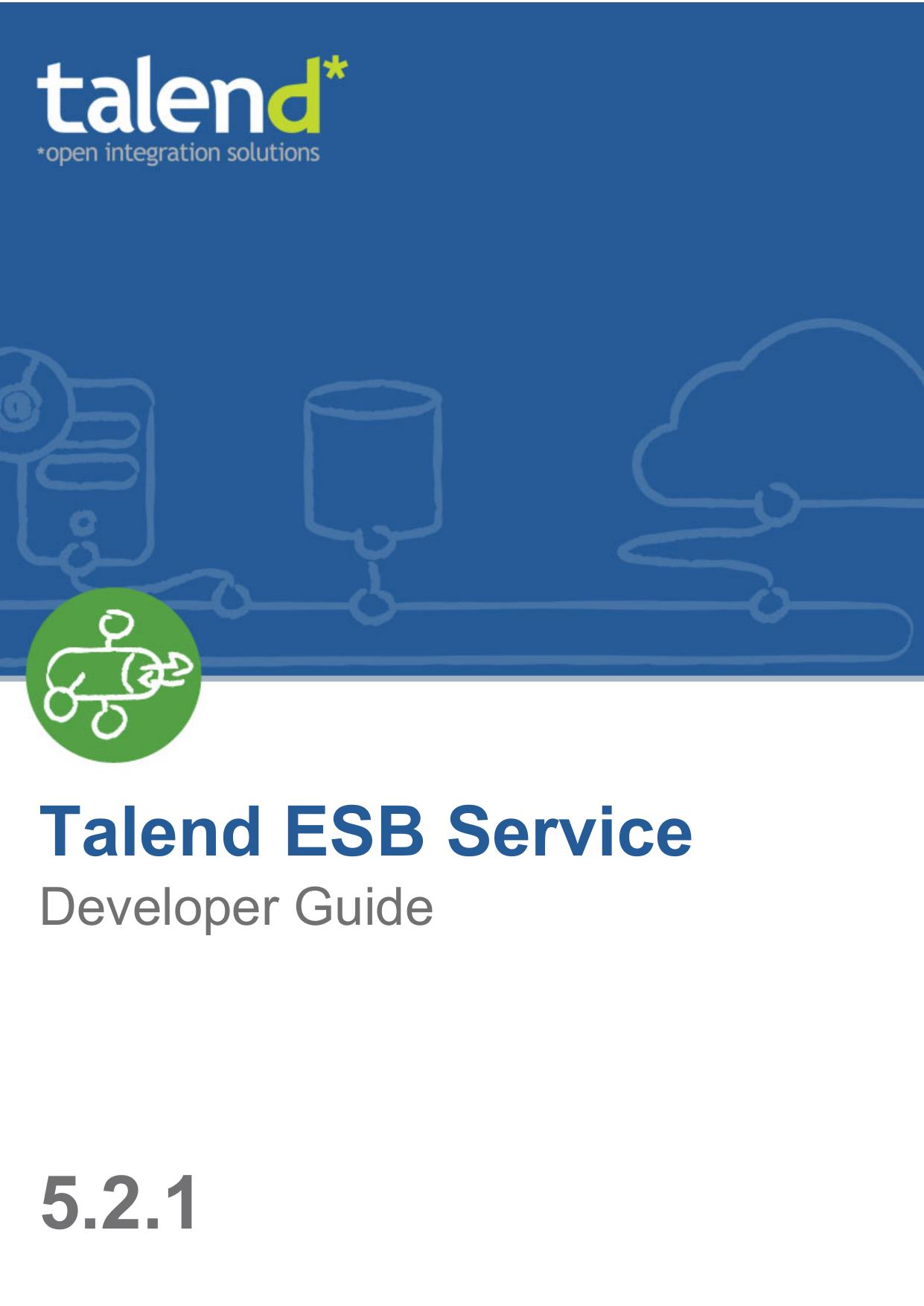 Talend ESB Service | manualzz com