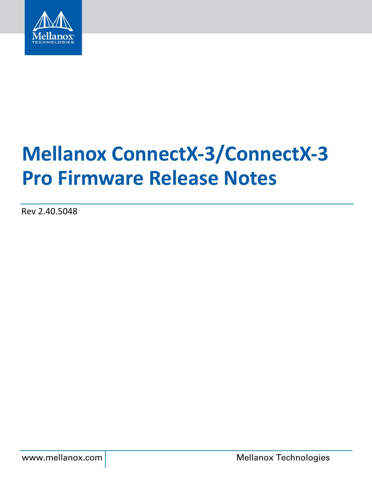 ConnectX3-FW-2_10_0X00 RN book | manualzz com