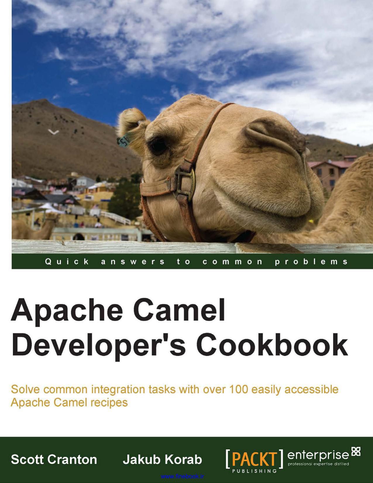 Apache Camel Developer`s Cookbook | manualzz com