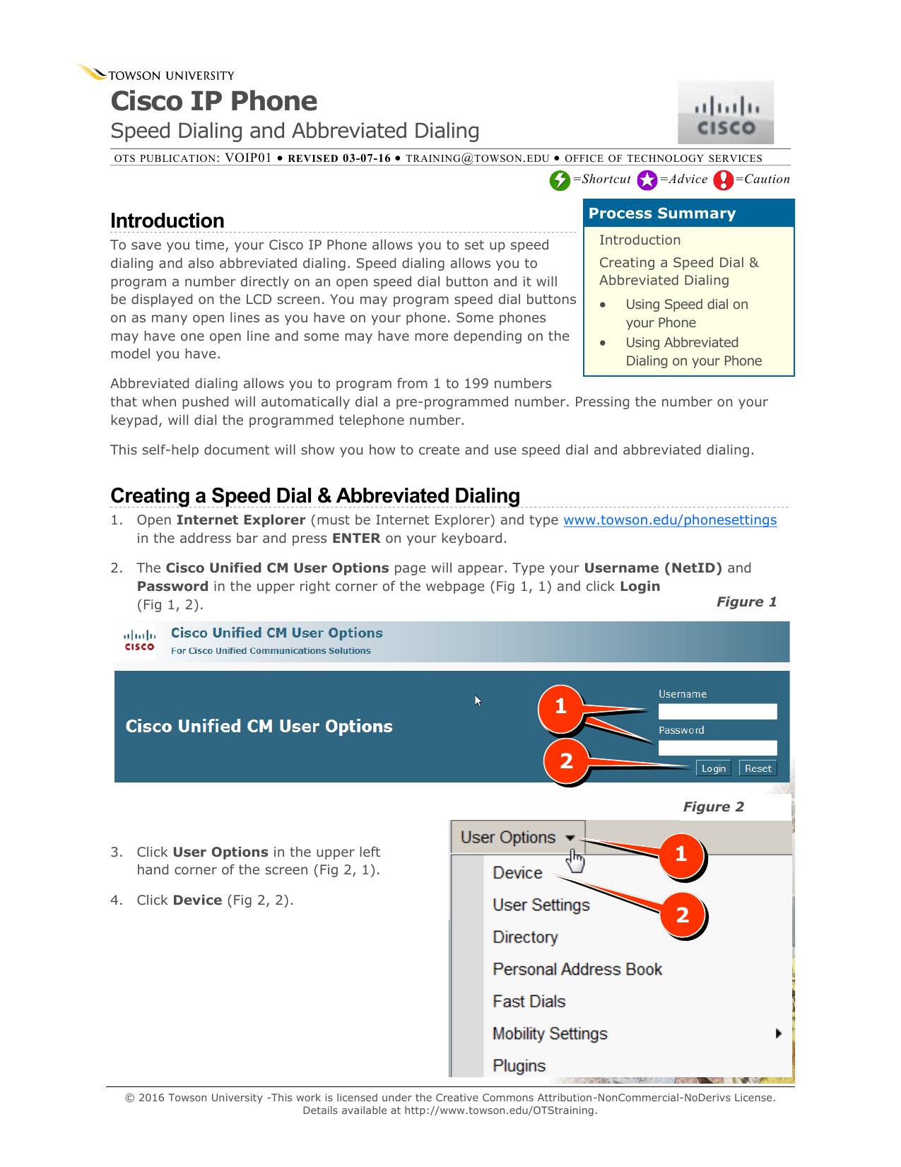 Cisco IP Phone: Speed Dialing and Abbreviated | manualzz com