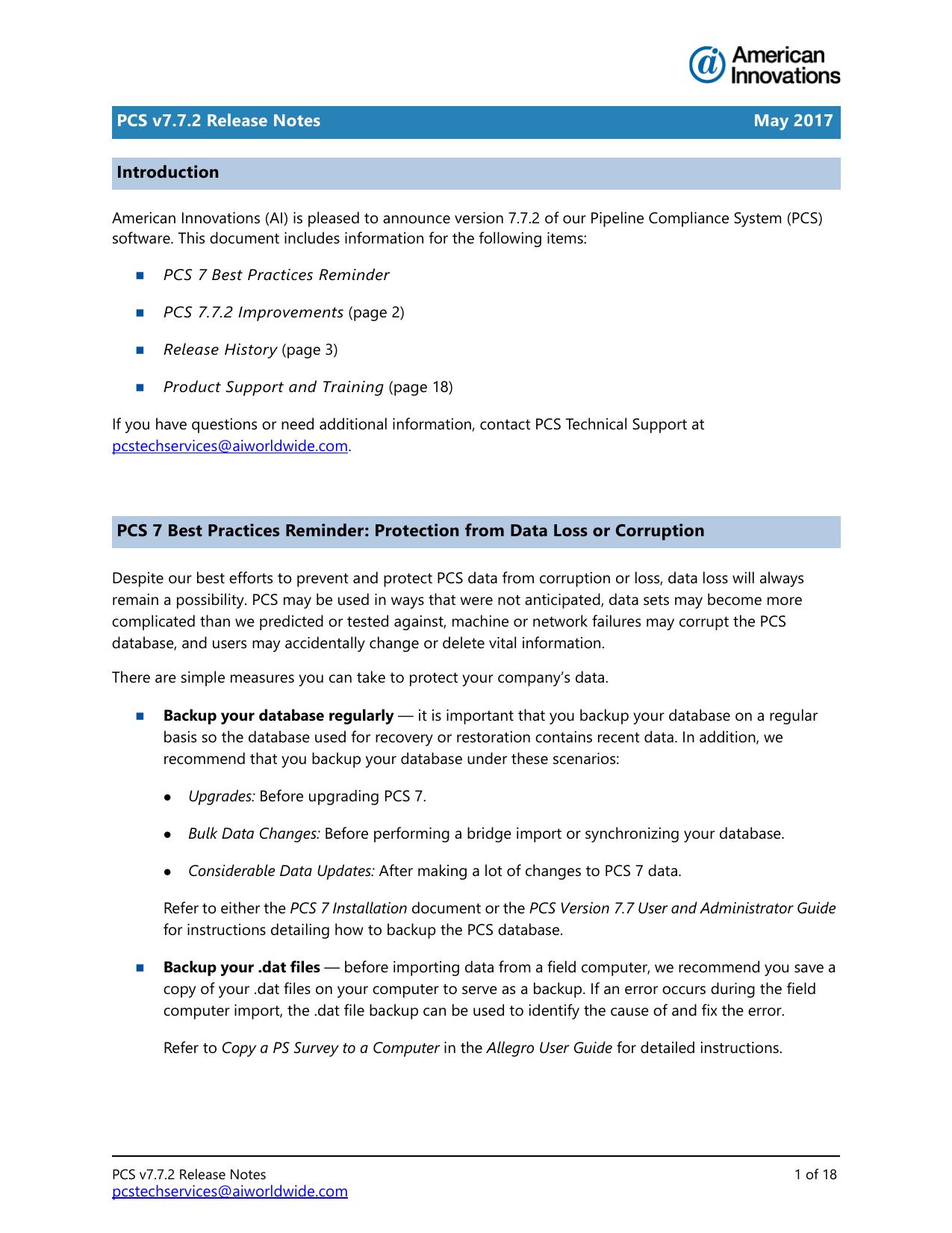 PCS 7 Release Notes - American Innovations | manualzz com