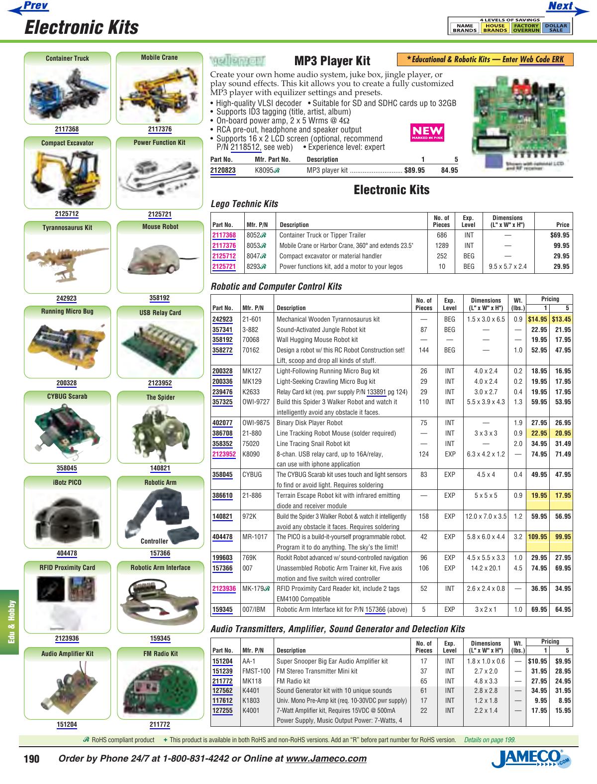 Mondo Tronics 3-136 Muscle Wire/® Super Sample Kit 5 Sizes