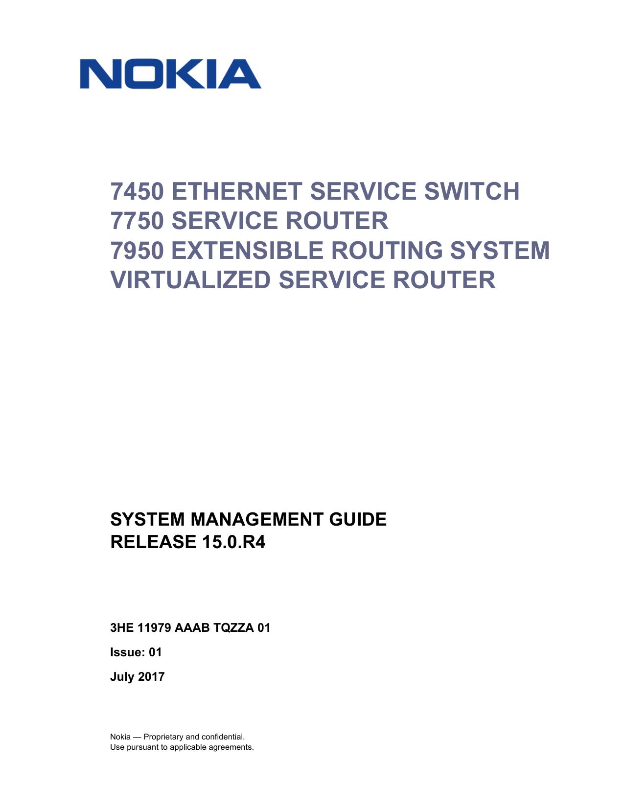 System Management Guide R15 0 R4 - Alcatel | manualzz com