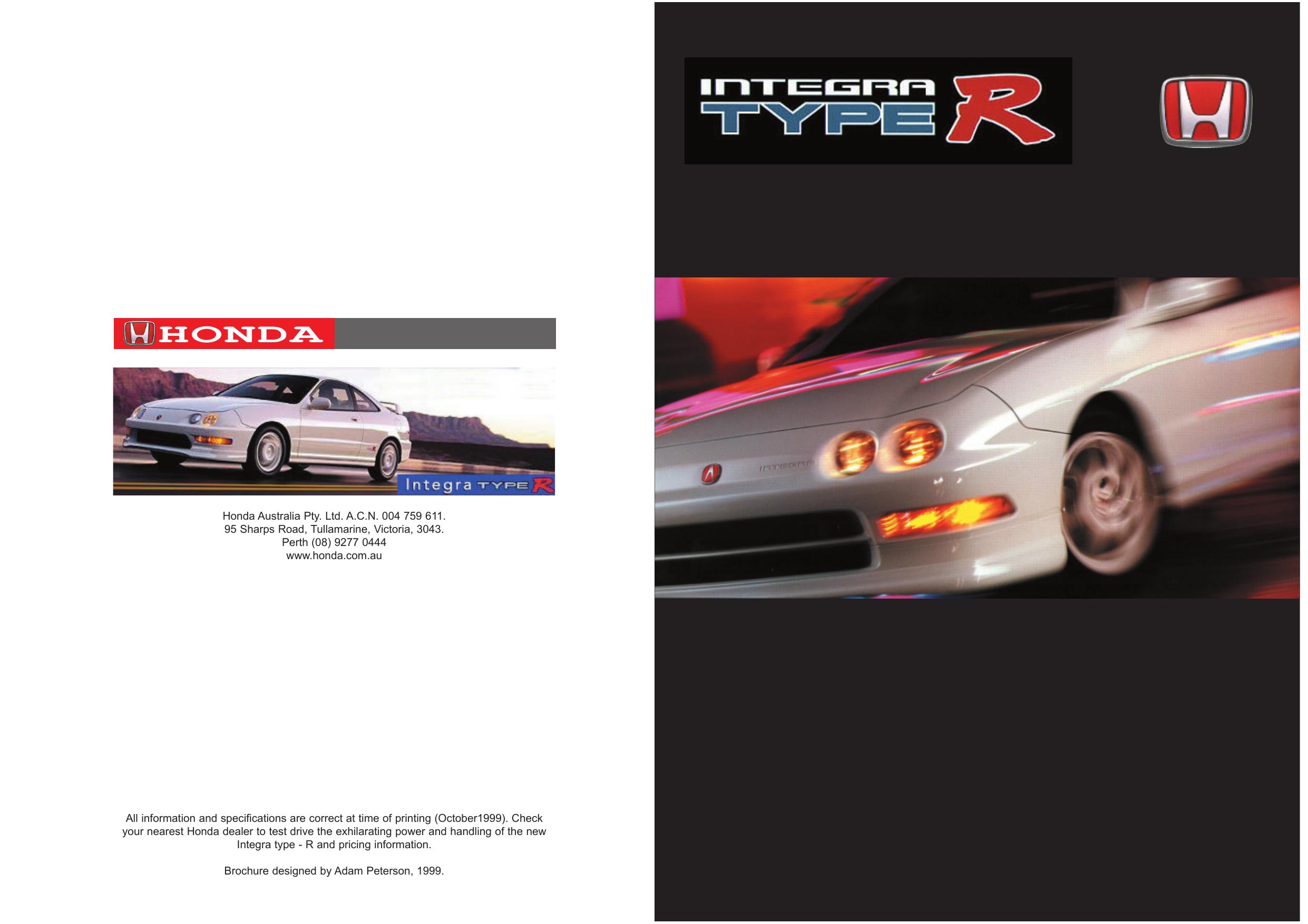 Honda Integra Type R Registry Manualzzcom