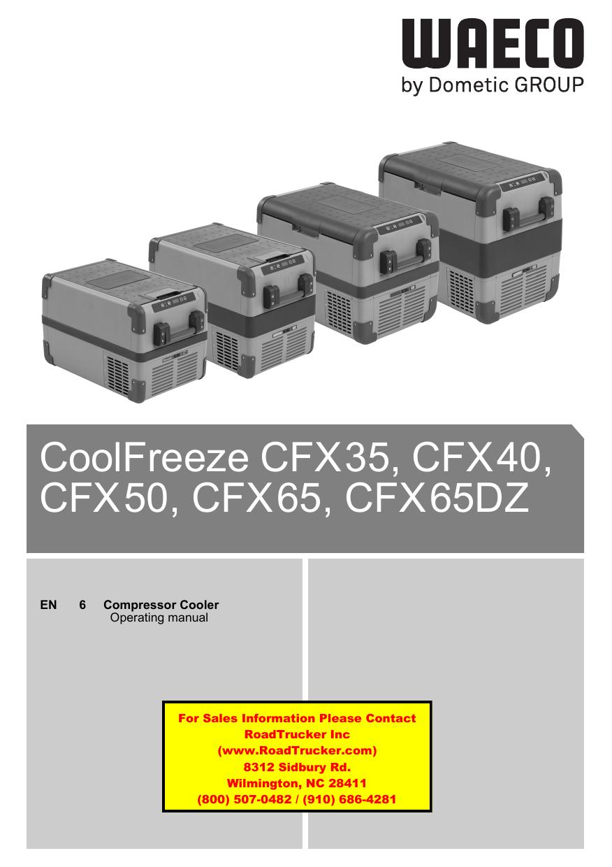 CoolFreeze CFX35, CFX40, CFX50, CFX65, CFX65DZ   manualzz com
