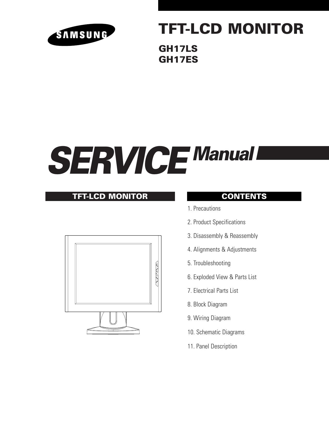 7 Tft Lcd Monitor Wiring Diagram