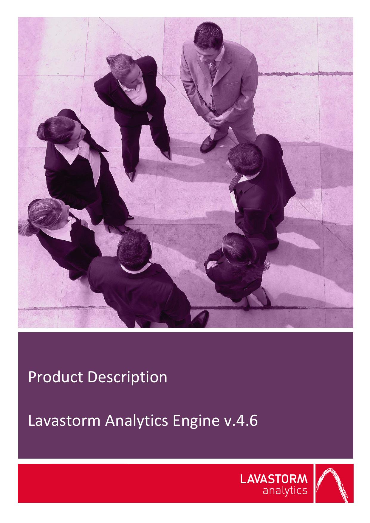 Lavastorm Analytics Product Description | manualzz com