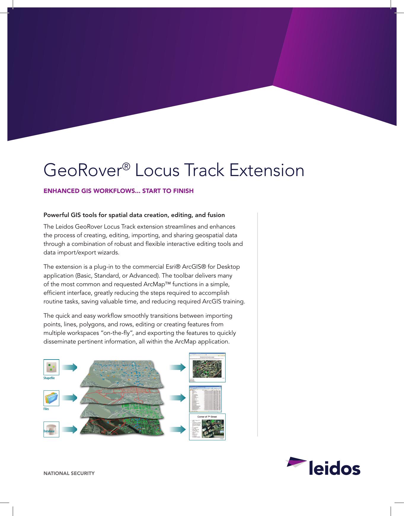 GeoRover® Locus Track Extension | manualzz com