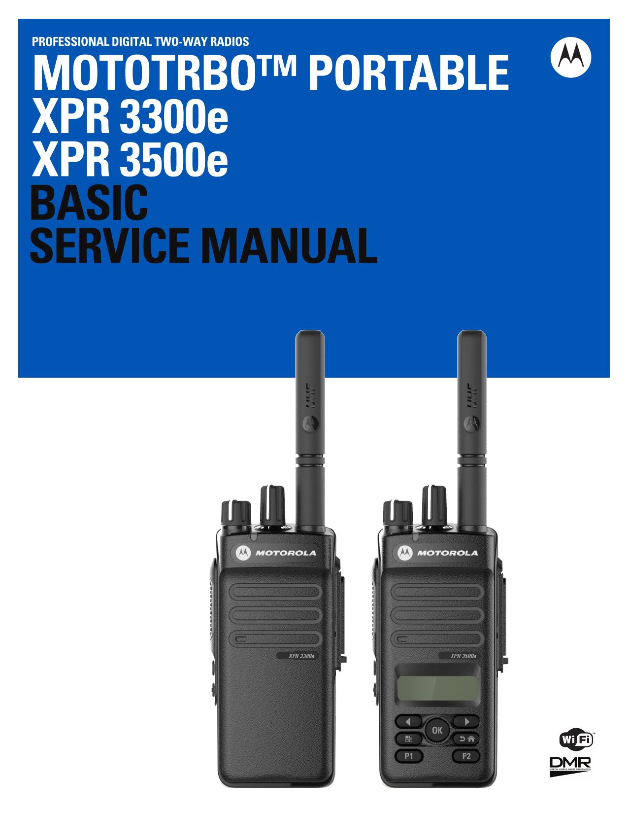 MOTOTRBO XPR 3000e Basic Service Manual | manualzz com