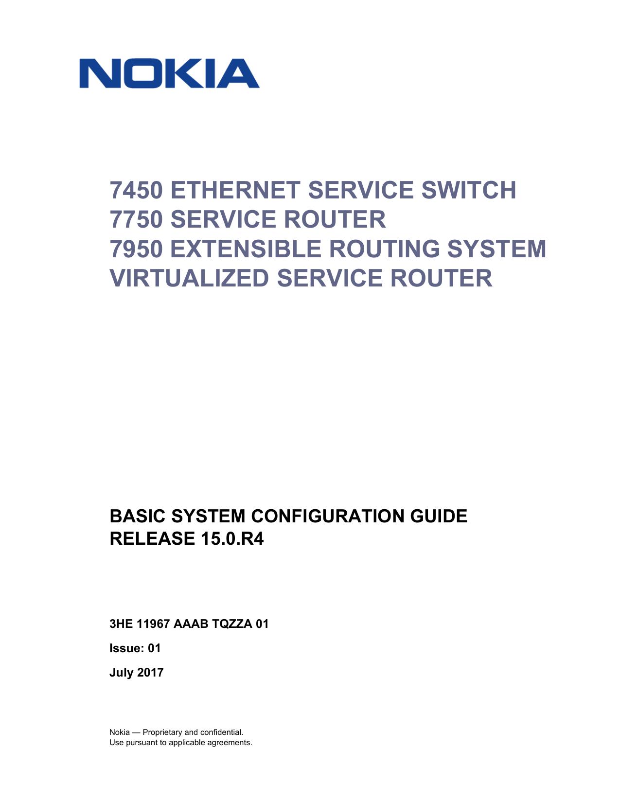 Basic System Configuration Guide R15 0 R4 - Alcatel   manualzz com