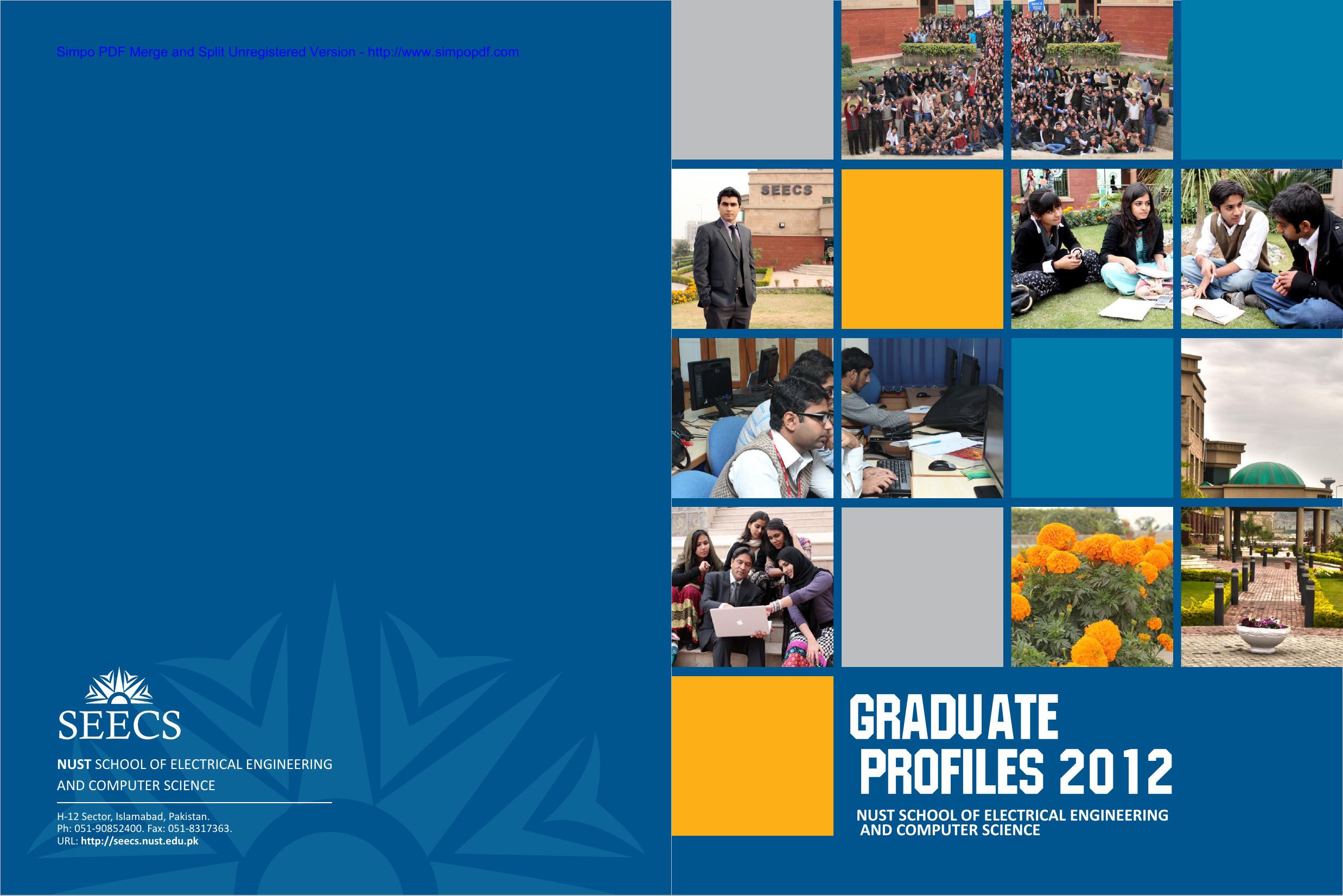 Graduate Profile SEECS BIT | manualzz com
