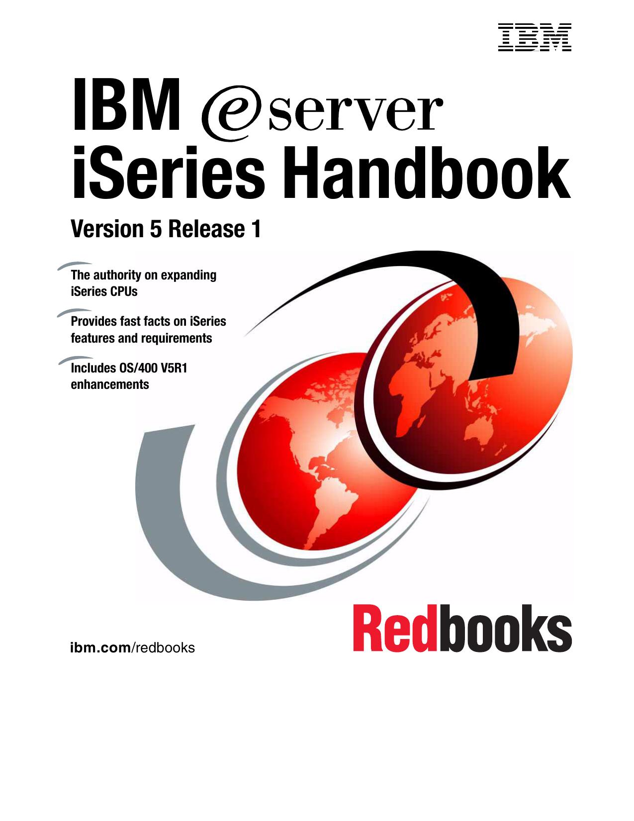 AS400 System Handbook V5R1M0 H N |