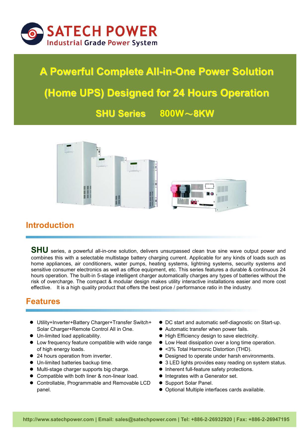 Ctg-SHU series Long Backup UPS-1609 | manualzz com