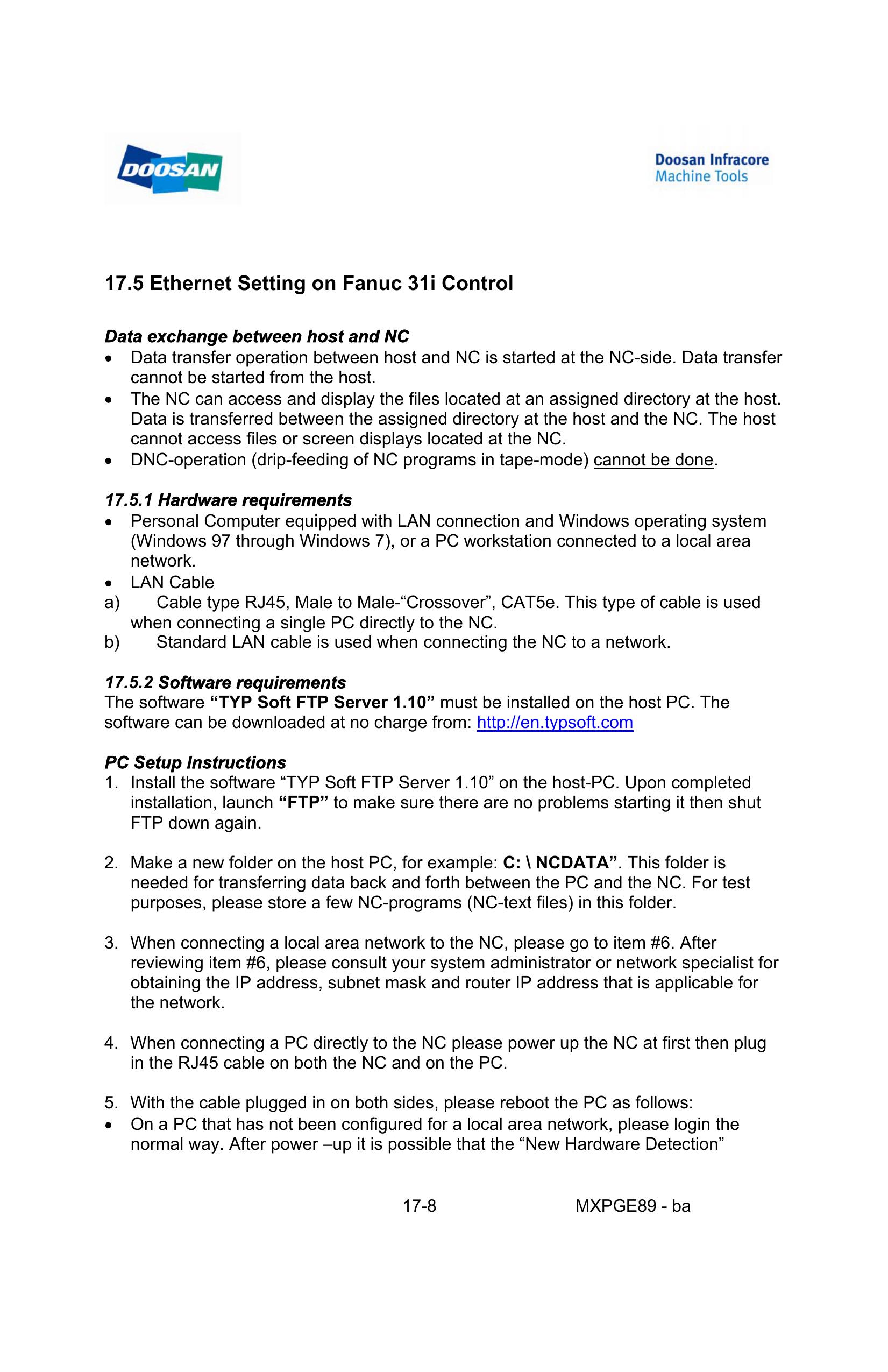 17 5 Ethernet Setting on Fanuc 31i Control | manualzz com