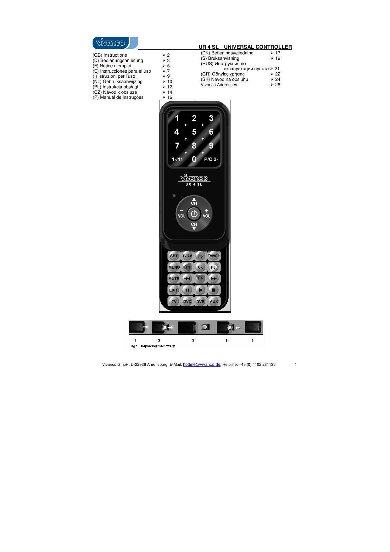 UR 04 UF_IM_1 0 - produktinfo conrad | manualzz com