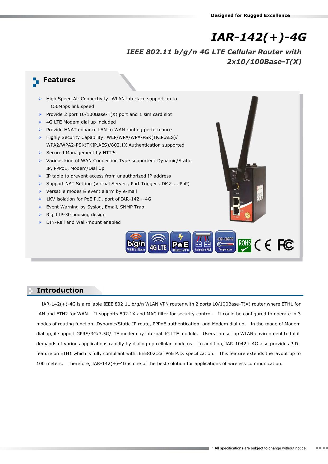IAR-142(+)-4G | manualzz com