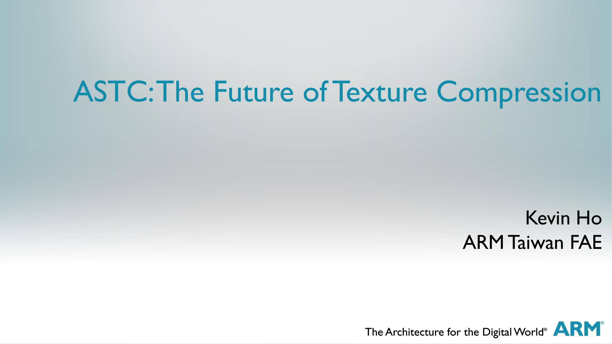 ASTC: The Future of Texture Compression | manualzz com
