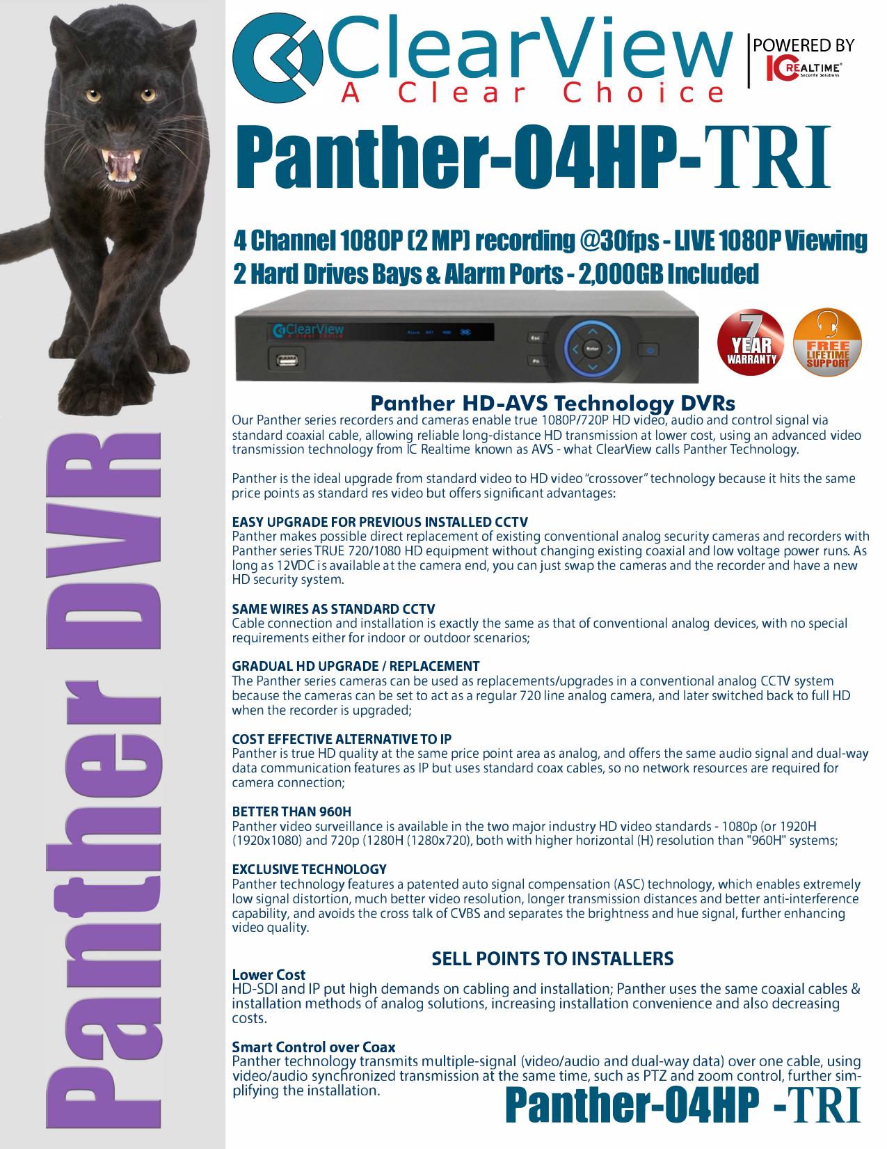 Panther-04HP-TRI | manualzz com