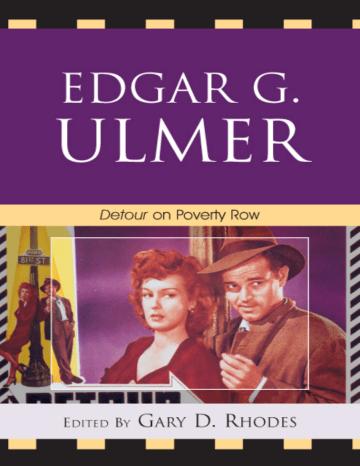 Edgar G Ulmer Shreecon India Manualzz