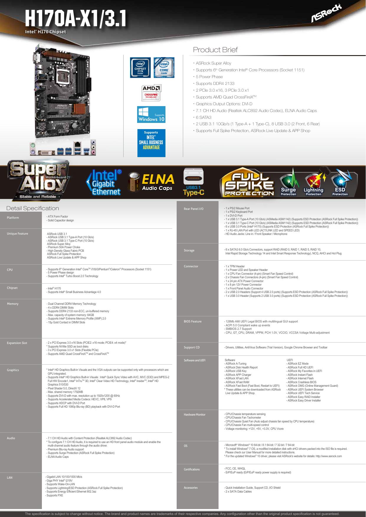 H170A-X1/3 1 - many Electronics | manualzz com