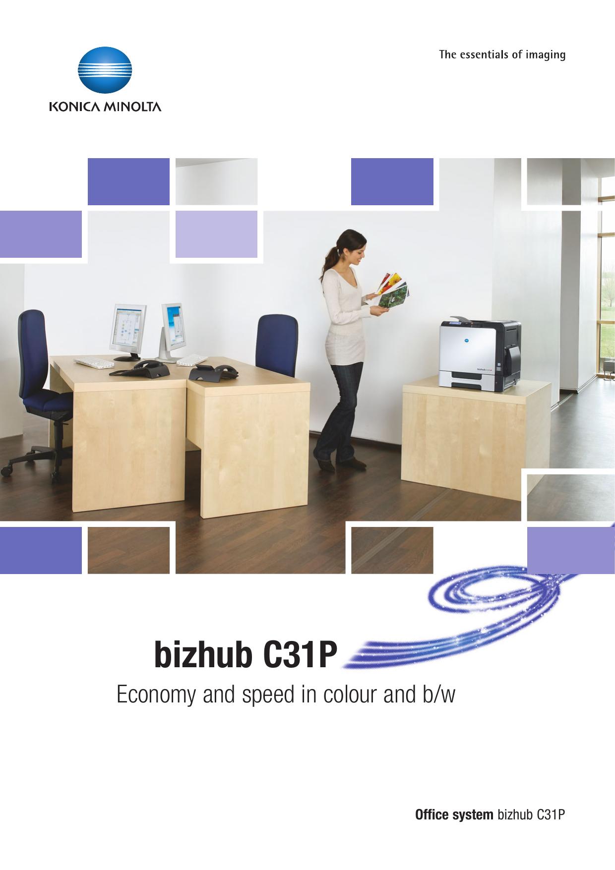 BIZHUB C31P DRIVERS FOR WINDOWS XP