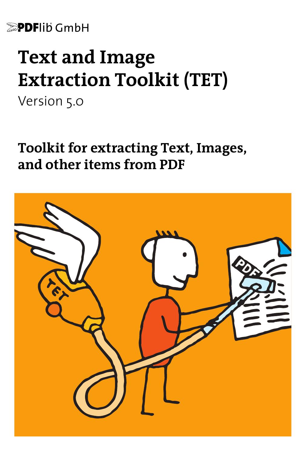 PDFlib Text Extraction Toolkit (TET) Manual | manualzz com
