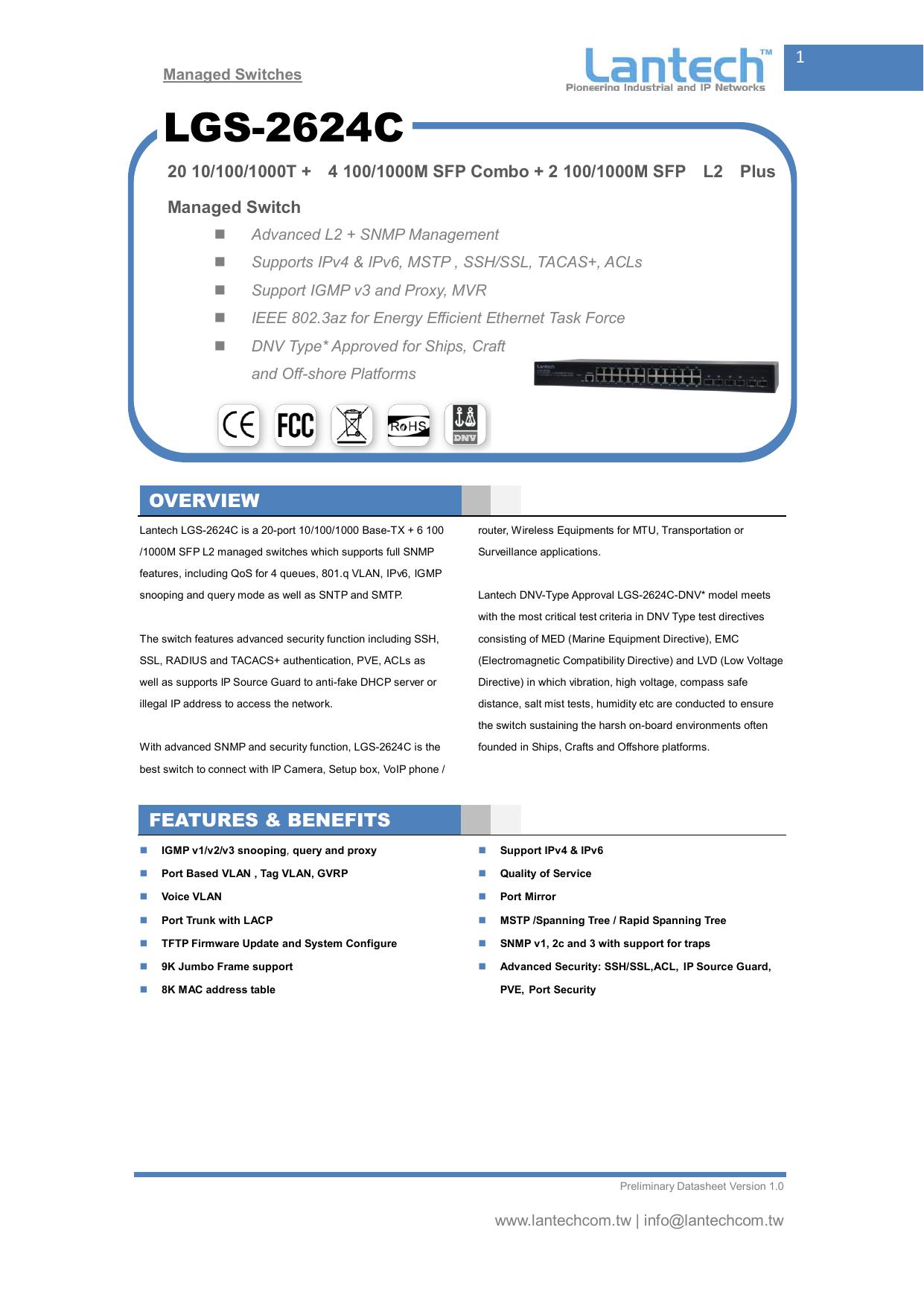 LGS-2624C | manualzz com