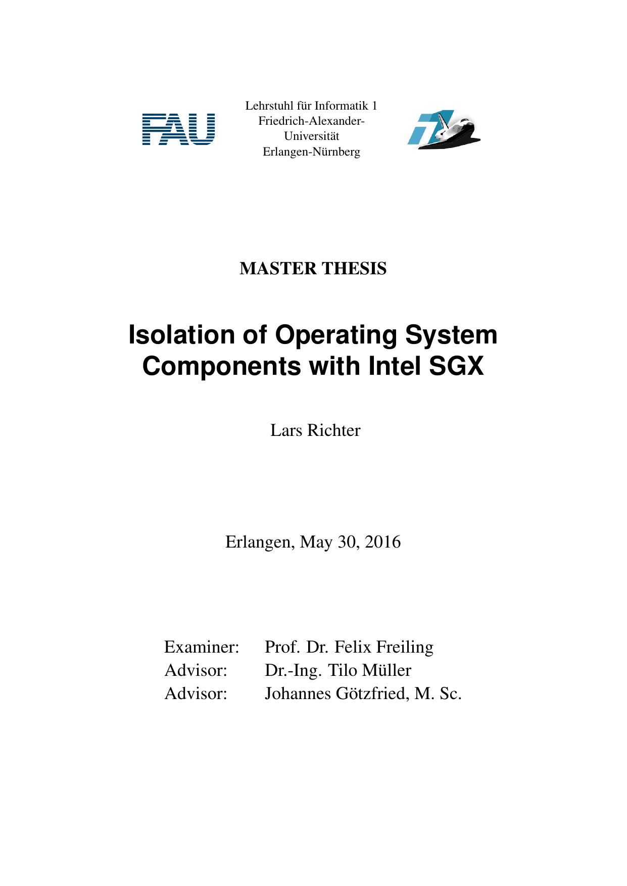 Abschotten von Betriebssystem-Komponenten mit | manualzz com
