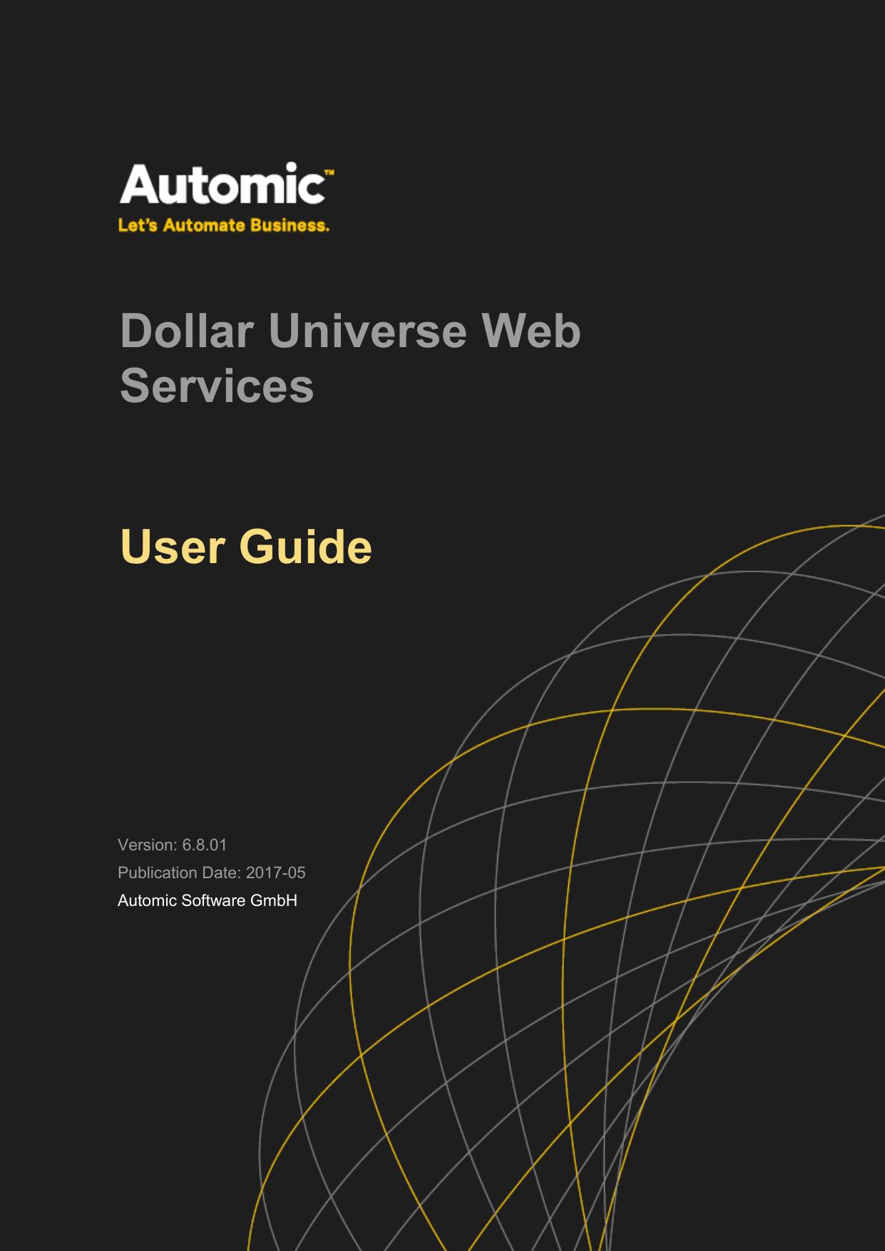 Dollar Universe Web Services User Guide   manualzz com