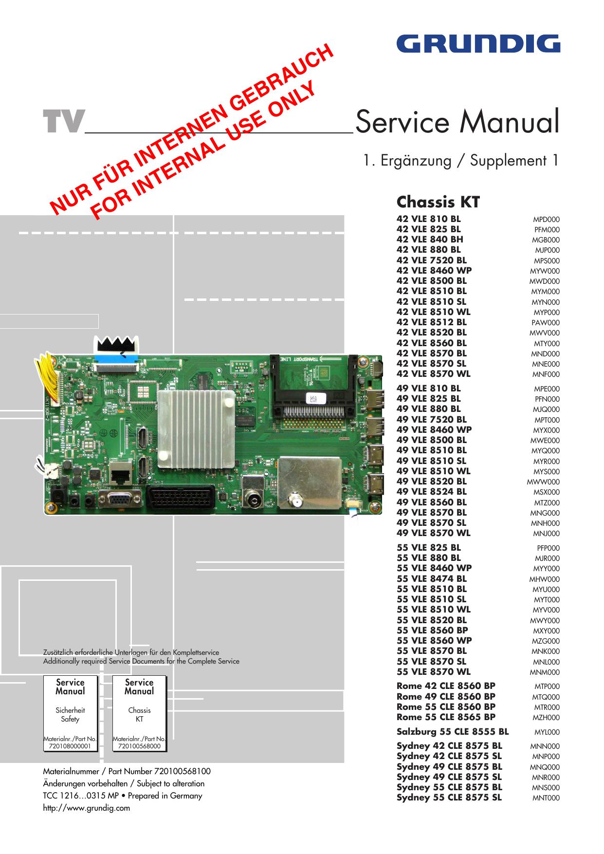 TV Service Manual - InfoTip Service GmbH   manualzz com