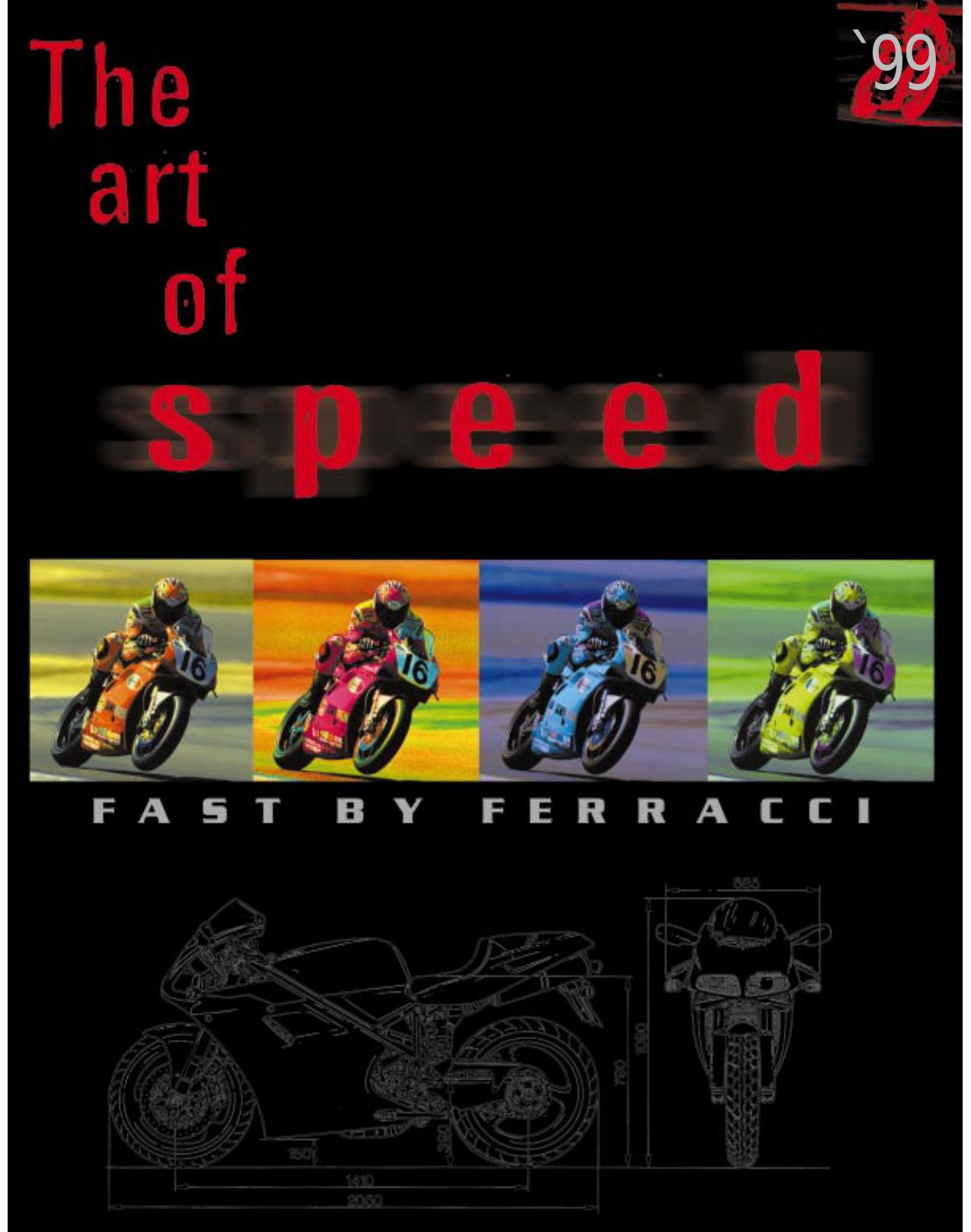 Kit stickers motorcycle ducati performance 15pz choose colour