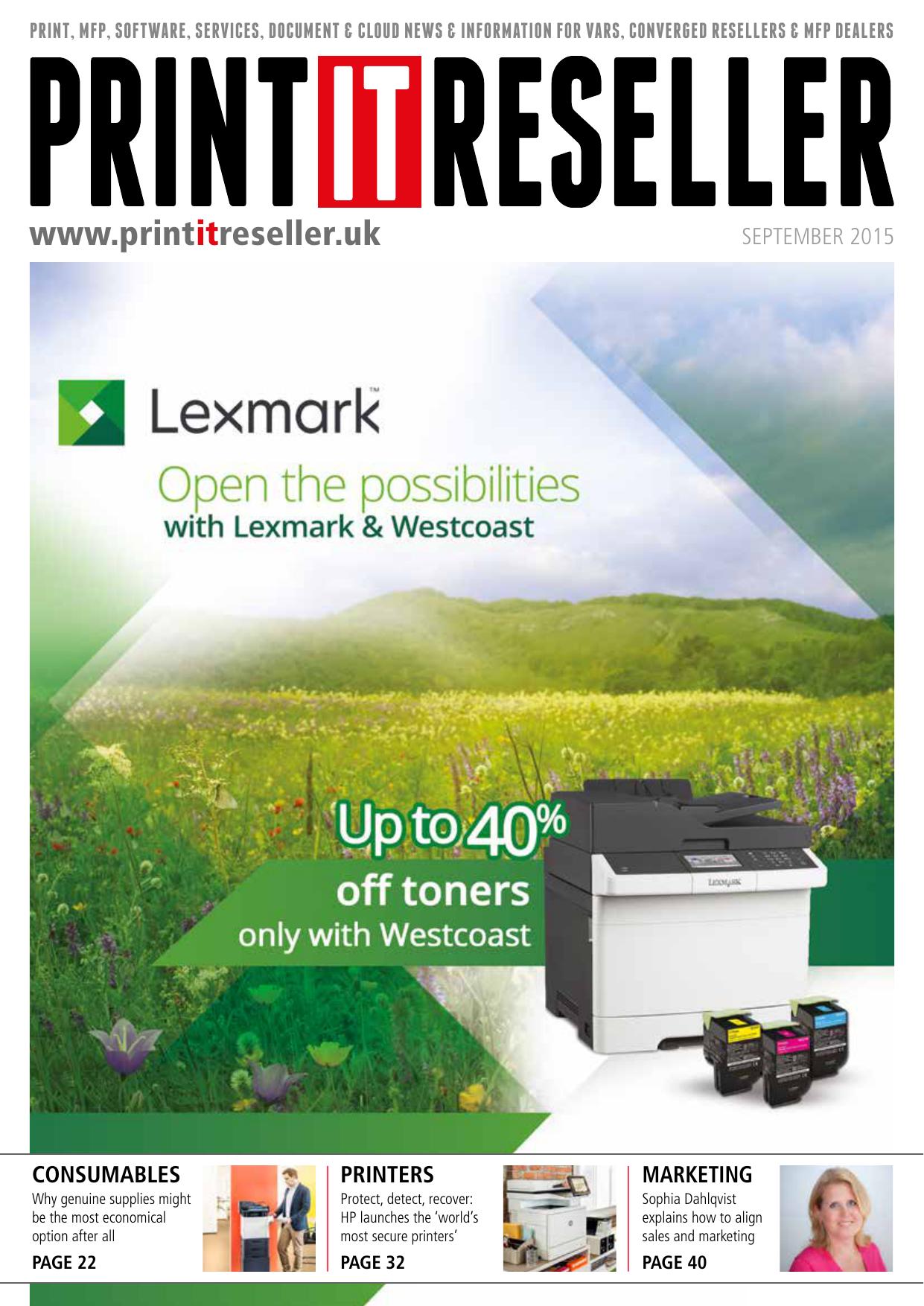 printers - Print IT Reseller Magazine   manualzz com