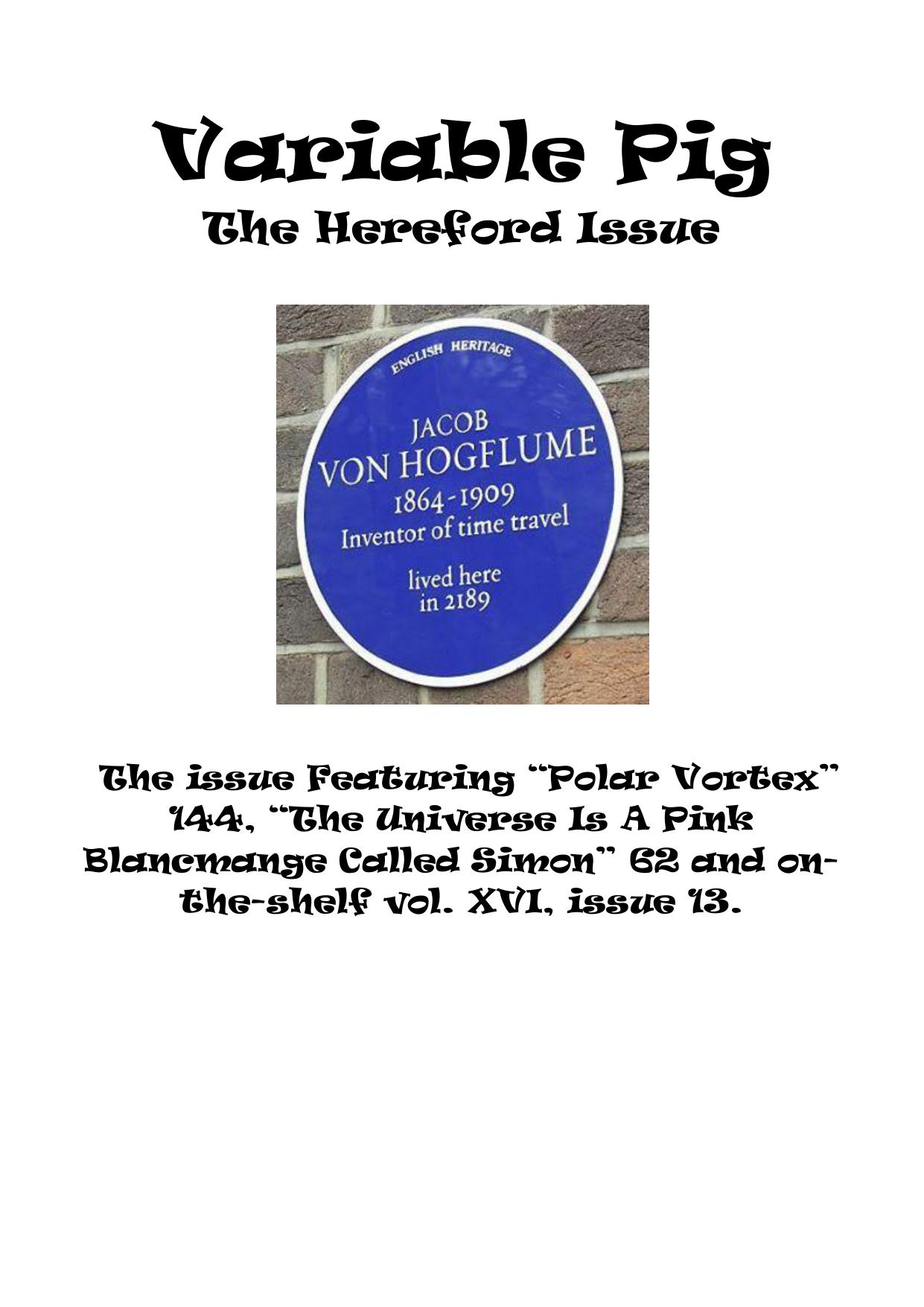 hereford - variable pig Variable Pig | manualzz com