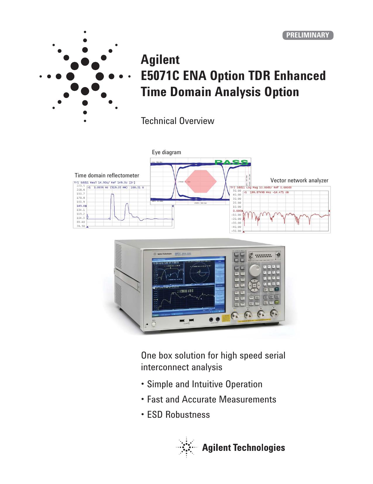Agilent technologies e5071c instruction manual | manualzz.