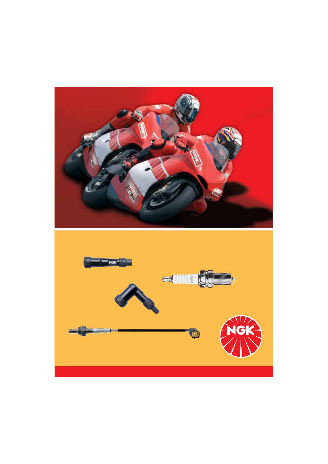 NGK Zündkerzenstecker 8160 LB05EMH-R RT rot KTM EXC 360 2T