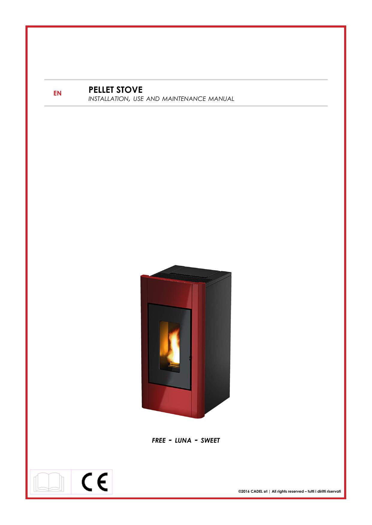pellet stove - Stufe Cadel srl | manualzz.com