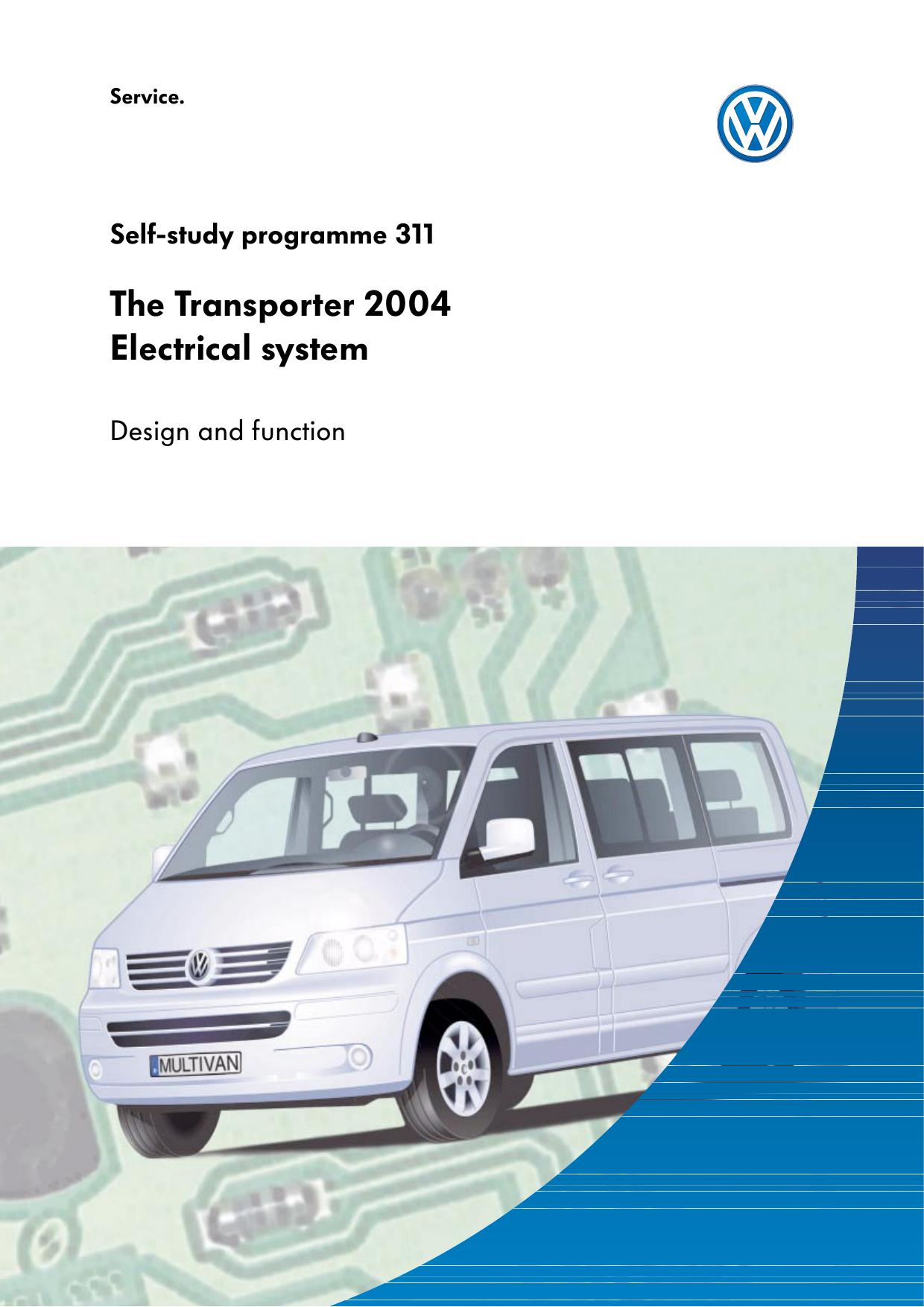 ssp311 The Transporter 2004 Electrical system | manualzz com