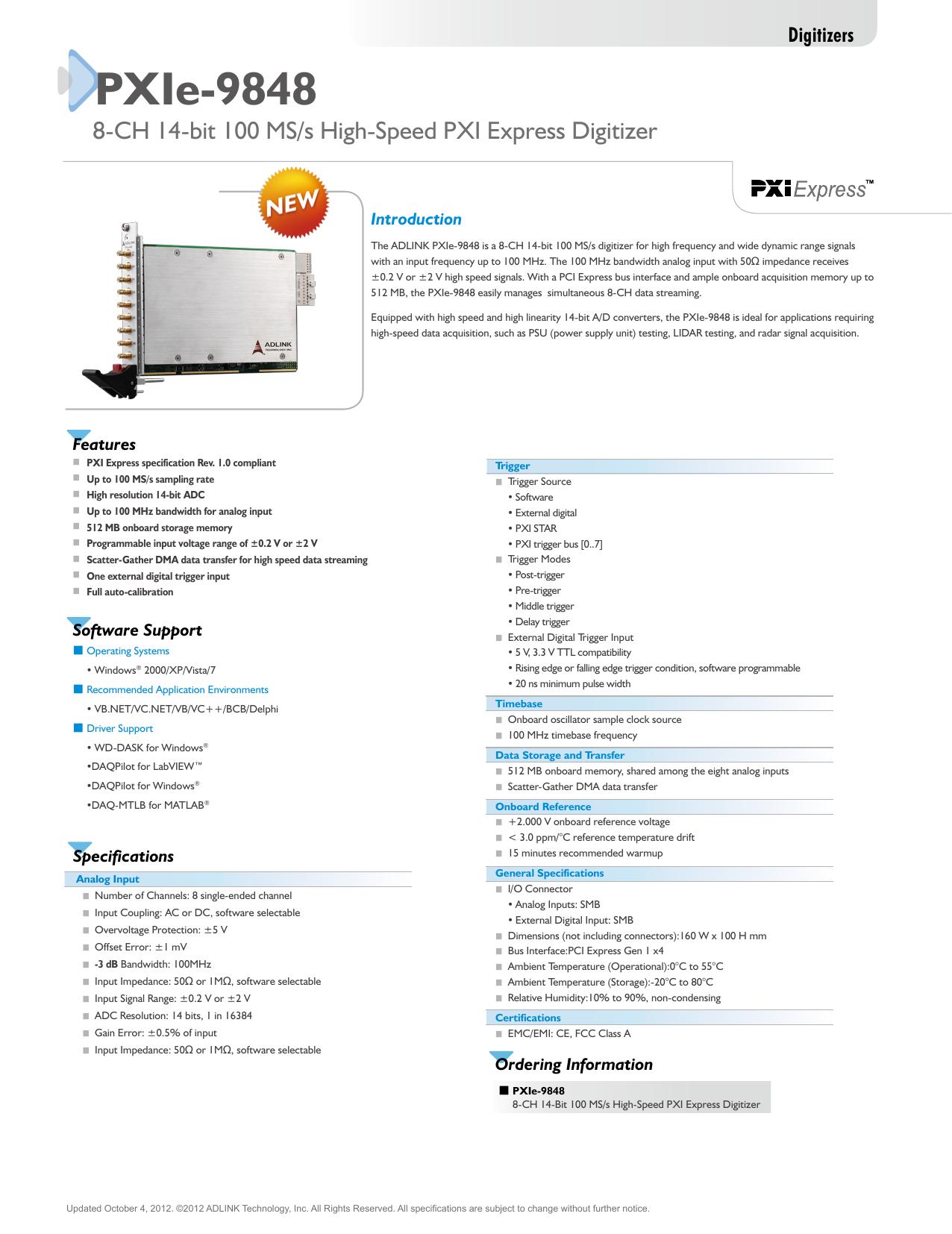 PXIe-9848   manualzz com